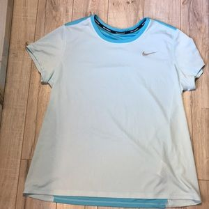 Nike blue running top - size large